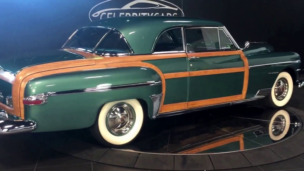 1950 Chrysler Town And Country Newport Coupe One Of 700 Made 1949 Estimated 50 Left