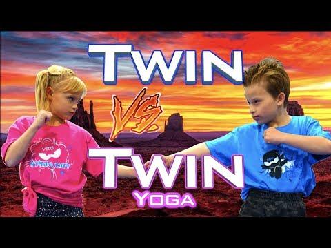 Twin vs Twin Yoga Challenge