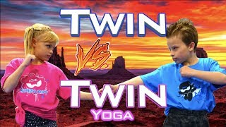 Twin vs Twin Yoga Challenge