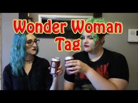 Wonder Woman Movie Book Tag