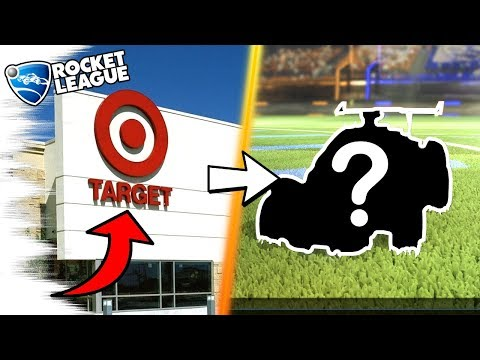 GOING TO TARGET FOR ROCKET LEAGUE ITEMS! - Rocket League Trading/Gameplay Secrets