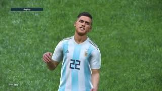 PES 2019 - Argentina - Francia - PS4 - 2T