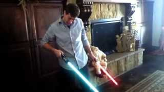 Darth Baby's Lightsaber