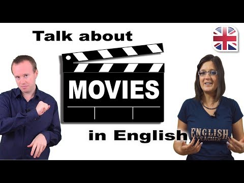How to Talk About Movies and Films in English - Spoken English Lesson