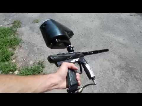 Пейнтбольный маркер - YouTube