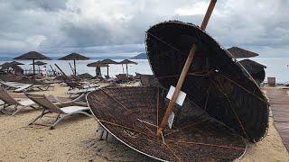Tempestade mortífera no norte da Grécia