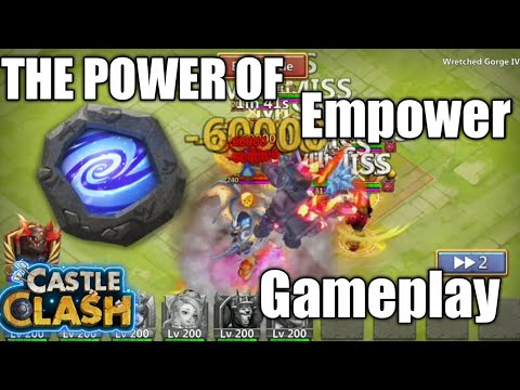 The Power Of Empower Team | Castle Clash