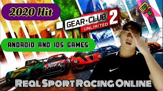 Sport Racing Online Game (Gear.Club),Review Video,2020 High Graphite Simulations,Real Racing Game...