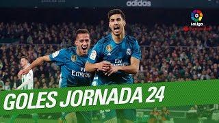 Todos los goles de la Jornada 24 de LaLiga Santander 2017/2018