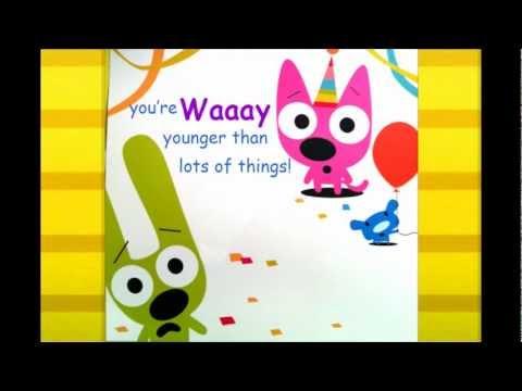 birthday cards online hoops and yoyo – Hoops and Yoyo Birthday Card