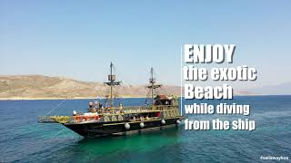 3 island tour by Sail Away Kalymnos-Pserimos-Plati