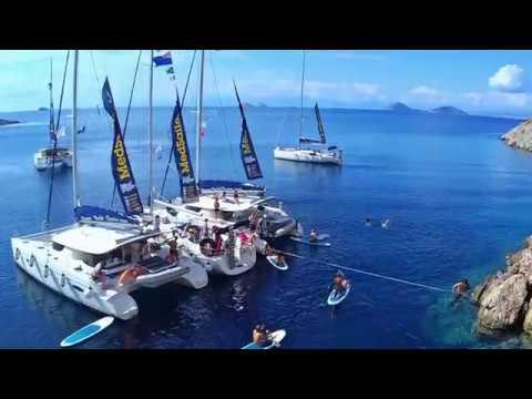 Sailing the Saronic Gulf in Greece