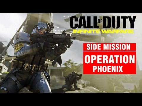 Call of Duty: Infinite Warfare [Side Mission - Operation PHOENIX] Campaign Gameplay Walkthrough