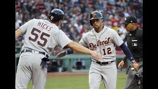 Detroit Tigers vs Boston Red Sox Highlights || June 7, 2018