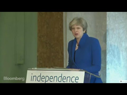 May Calls Free Market `Greatest Agent