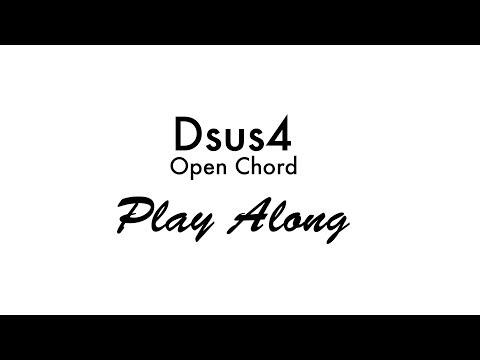 dsus4 open chord