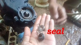 Video How to plug the Water Pump seal to its suction power like a New pump download MP3, 3GP, MP4, WEBM, AVI, FLV September 2018