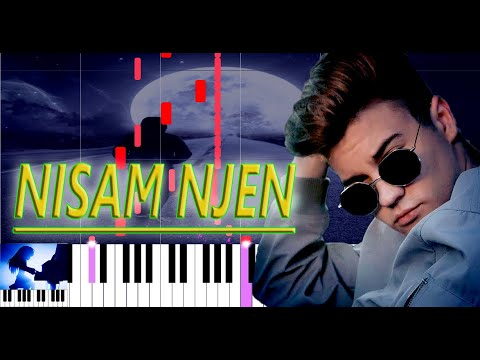 TOMA – NISAM NJEN 🎹 Piano Tutorial 🎹 Piano Cover 🎹 Instrumental