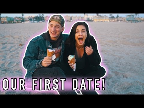 OUR FIRST DATE! SHE FINALLY LET ME TAKE HER OUT!