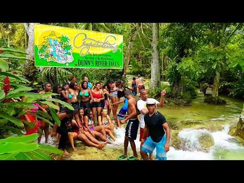 Dunn's River Falls - Ocho Rios Jamaica (Walking Tour) part 2 - Samsung Galaxy Note 4   Full HD