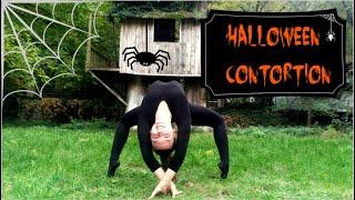 Halloween contortion music video