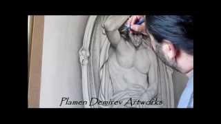 Lucifer, dibujo de Plamen Demirev