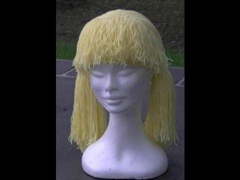 Crochet Hat Wig Tutorial Youtube