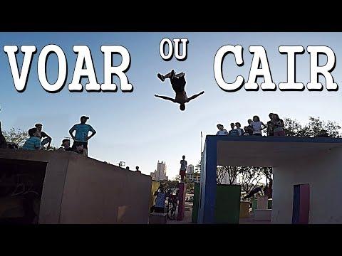 VOAR OU CAIR - ENCONTRO DE PARKOUR ( GOOD VIBES )