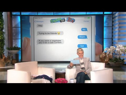 Ellen's Got More Texts from Your Ex