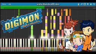 AIM - Aijou to nichijou (Digimon tamers ending) - MIDI -ابطال الديجيتال 3 الخطوة تدفع خطوة