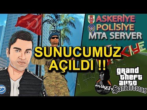GTA SAN ANDREAS ONLİNE - DNZY MTA SUNUCUMUZ AÇILDI!
