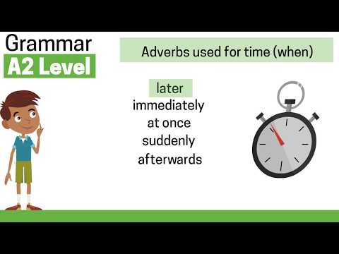 A2 Adverbs: Time, Place, Frequency