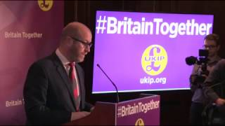 UKIP General Election Campaign Launch, London April 28, 2017