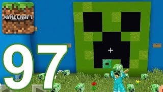 Minecraft: PE - Gameplay Walkthrough Part 97 - Find The Button: YouTubers Edition (iOS, Android)