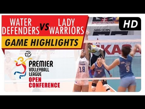 Water Defenders vs. Lady Warriors | PVL Open Conference Finals | Game Highlights | August 16, 2017