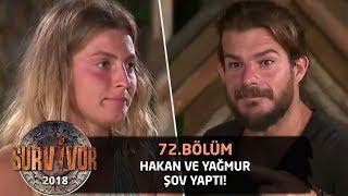 Hakan'la Yağmur Anlat Bakalım'da şov yaptı | 72.Bölüm | Survivor 2018