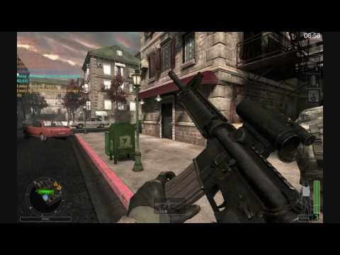 America's Army 3 Alley Gameplay HD