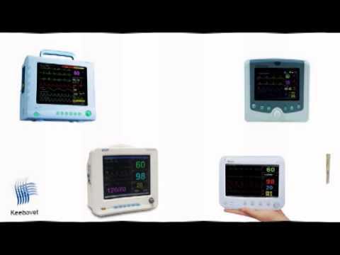 Multiparameter Veterinary Monitors with Capnography, EtCo2, IBP Multi Gas