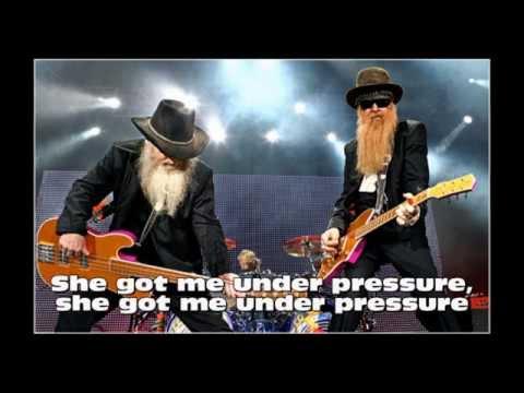 ZZ TOP - Got me under Pressure / Instrumental with Lyrics ( Karaoke )