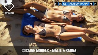 Cocaine Models Presents MALIE & RAUNA in Bali x Nunui Bikini | FashionTV | FTV