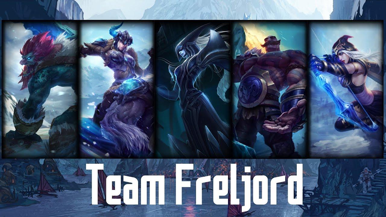 LoL - Team Freljord - YouTubeLeague Of Legends Freljord Champions