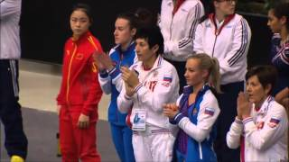 Anna Korobeinikova RUS 2015 Team World Tumbling Final