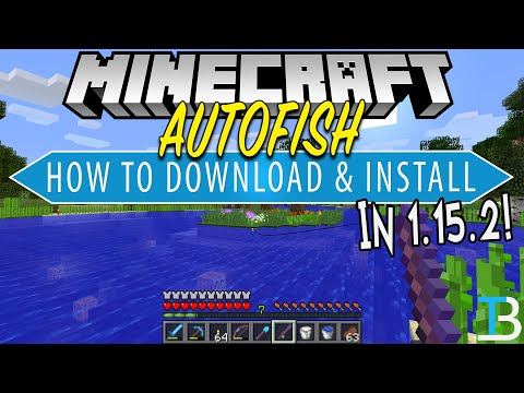 How To Download & Install Autofish In Minecraft 1.15.2