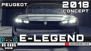 2018 PEUGEOT E-LEGEND CONCEPT Review