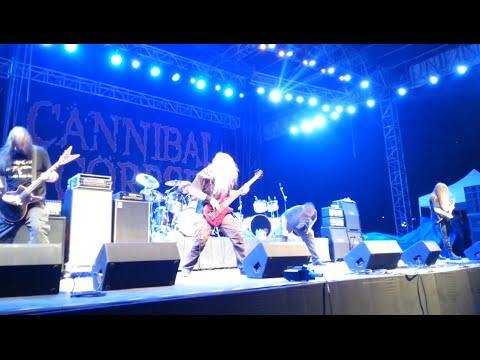 "CANNIBAL CORPSE - ""Hammer Smashed Face"" (Live At Bangalore, India)"