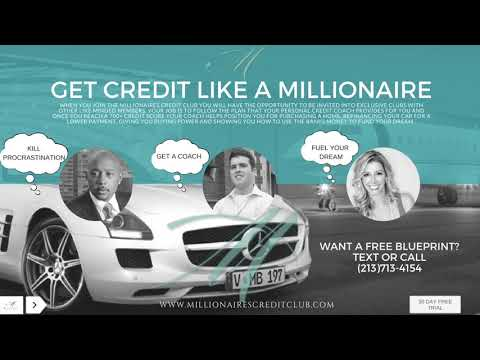Millionaires Credit Club Weekly Conference Call  : Personal and Business Funding And Taxes