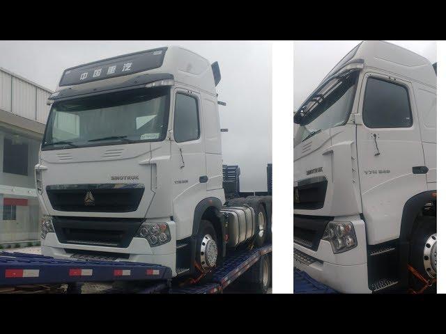 Sinotruk traz 100 caminhões para o Brasil - MTED