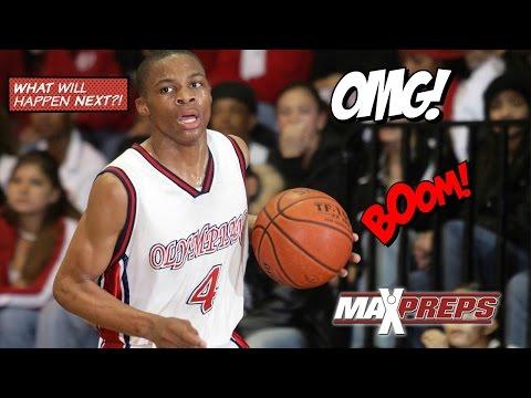 Russell Westbrook High School Highlights...