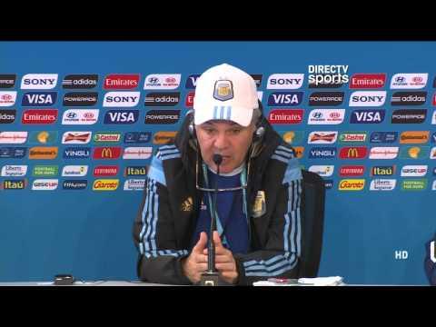 DIRECTV Sports™ - Argentina: Conferencia de prensa Alejandro Sabella