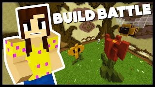 MAGICAL FLOWER GARDEN! - TEAM Build Battle w/Biggs87x - Minecraft Mini-Game